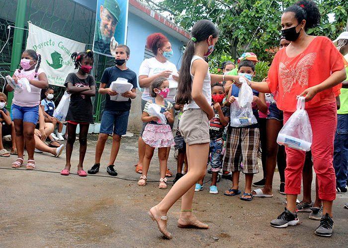 Actividades para los niños en víspera del aniversario 61 de los CDR.Fotos Yoandris Delgado Matos (18)