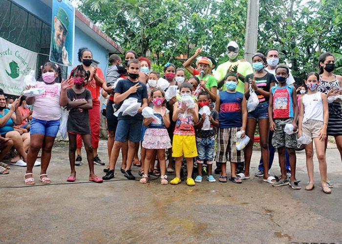 Actividades para los niños en víspera del aniversario 61 de los CDR.Fotos Yoandris Delgado Matos (19)