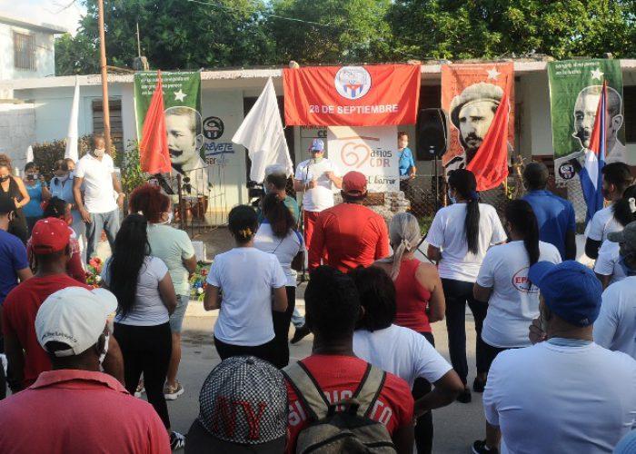 INDRE celebra el 61 aniversario de los CDR.Fotos Yoandris Delgado Matos (3)
