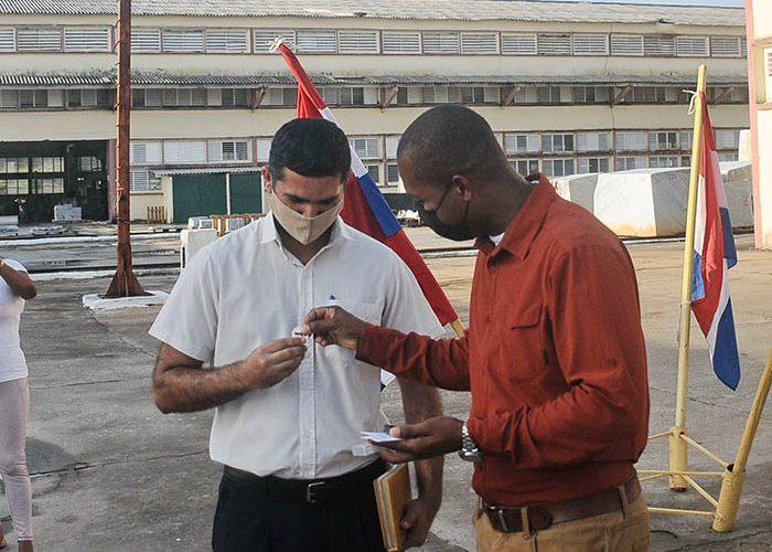 Acto 45 aniversario Anir en la Empresa del Mármol, fotos Yesmanis Vega Avalo_1