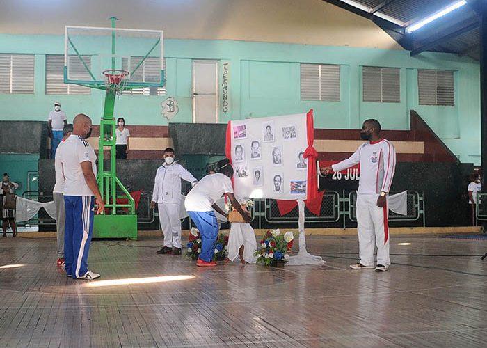 INDER celebra aniv. del crimen de Barbados. Fotos Yoandris Delgado Matos (2)