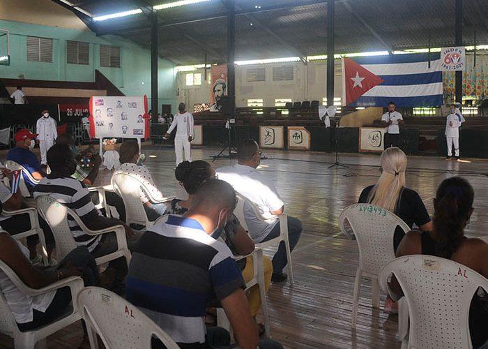 INDER celebra aniv. del crimen de Barbados. Fotos Yoandris Delgado Matos (3)